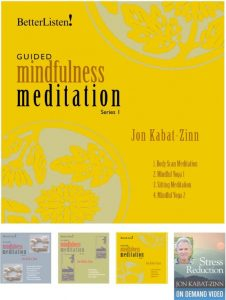 Guided Mindfulness Practices by Jon Kabat-Zinn
